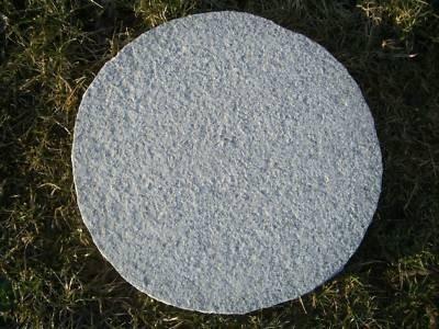 trittplatten granit cristall g603 rund rauh ca 30 3cm ebay. Black Bedroom Furniture Sets. Home Design Ideas